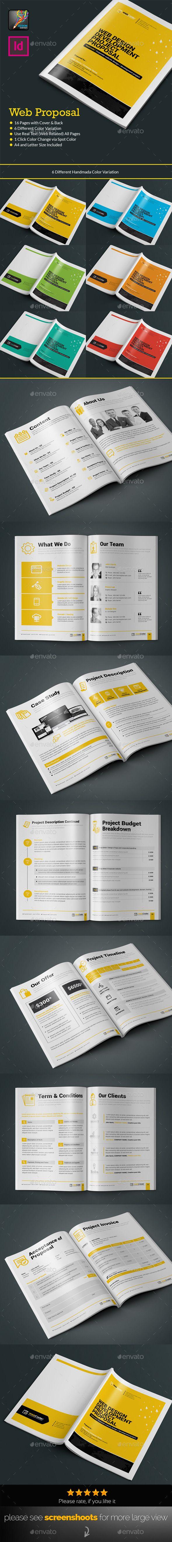 Web Proposal for Web Design & Development Agency Template #design Download: http://graphicriver.net/item/web-proposal-for-web-design-development-agency/12349424?ref=ksioks