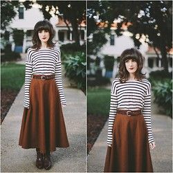 Kiana McCourt - Oasap Skirt - Simple Winter