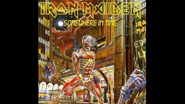 Iron Maiden - Somewhere In Time (1986) - Full Album