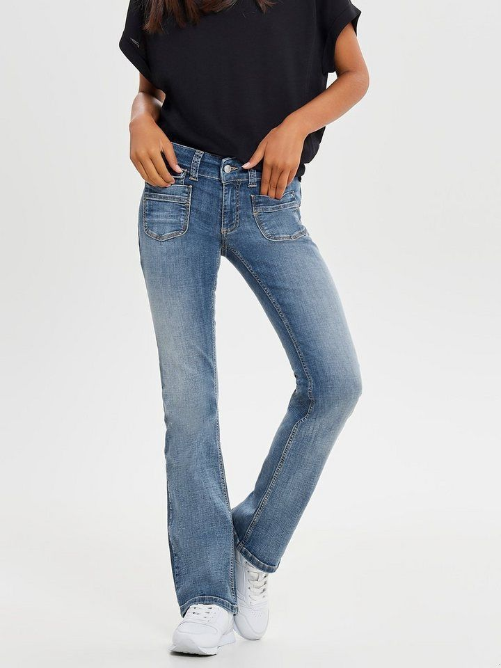 schöne Schuhe 100% authentifiziert bestbewerteter Beamter Only Ebba low Bootcut-Jeans online kaufen in 2019 | Only jeans ...