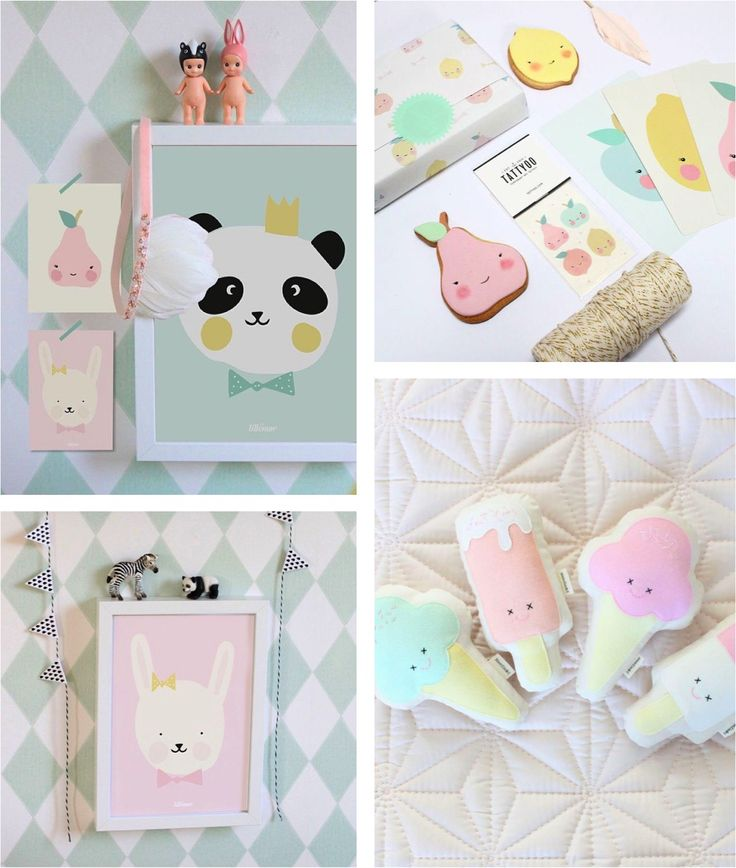 The cutest pastel decorations {for any room}