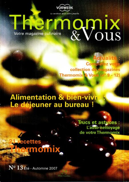 Thermomix |& Vous Nº 13