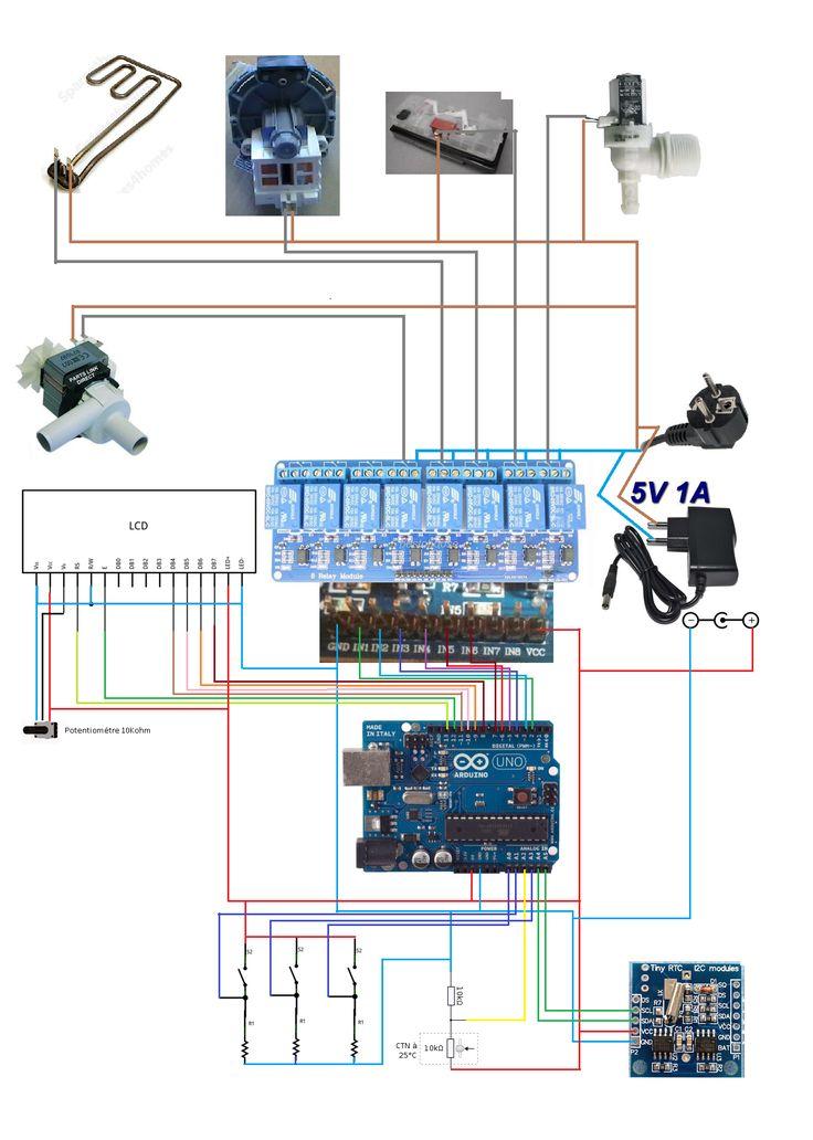 1000 id es sur le th me arduino sur pinterest projets arduino lectronique et programmation. Black Bedroom Furniture Sets. Home Design Ideas