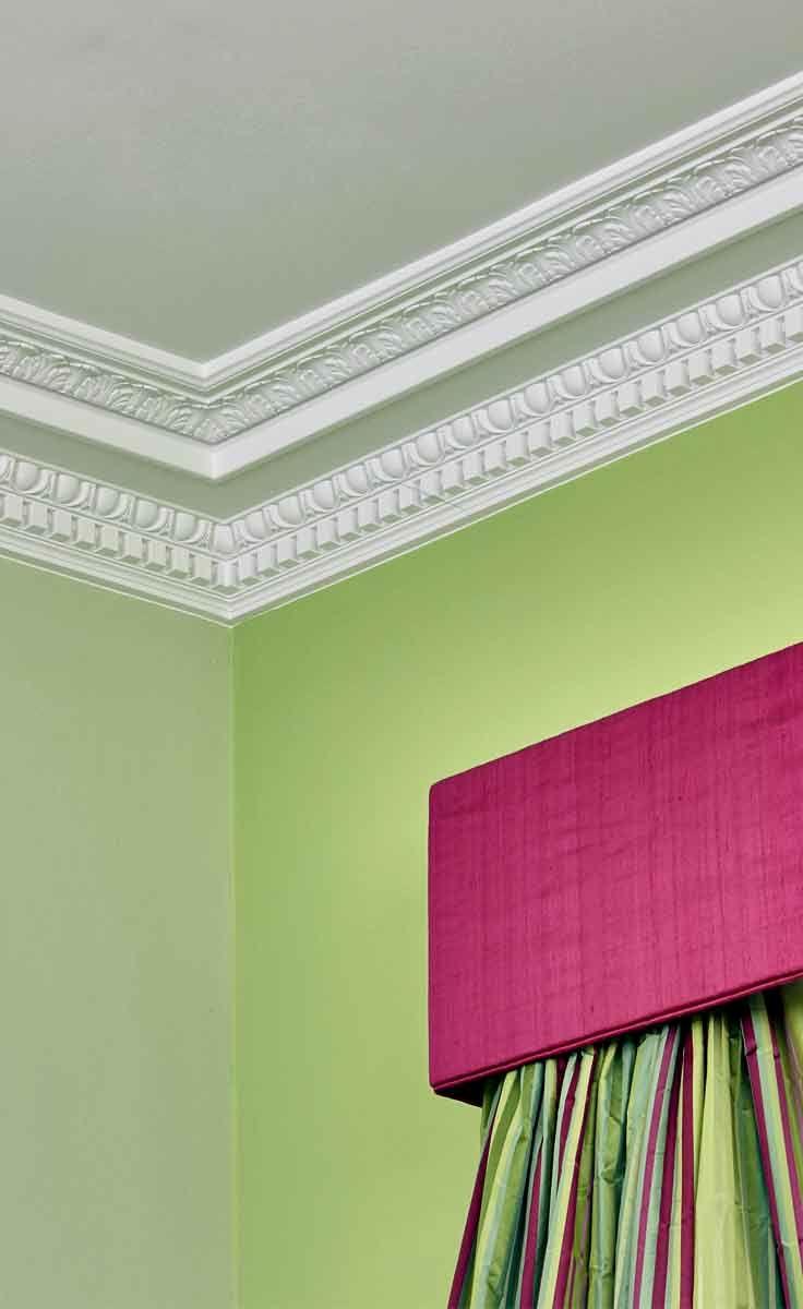 Echte Gips Stuckgesimse #Home decor #Stuckateur #Innenraum #Staff ...