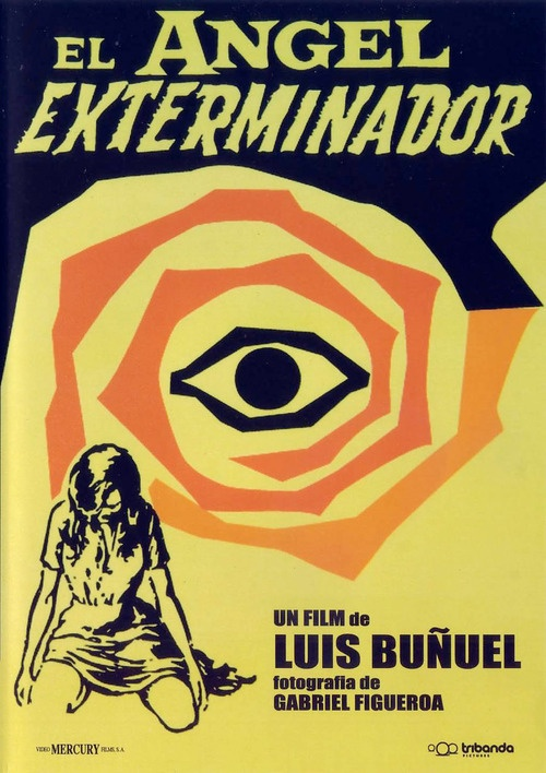Spanish movie poster for Luis Buñuel's The Exterminating Angel, 1962
