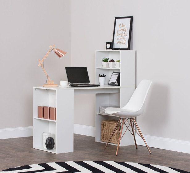 Lexter Storage Desk Desks Office Storage Office Categories Fantastic Furniture Home Office Shelves Desk Storage Desk
