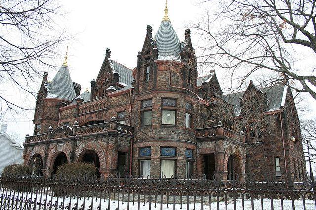Sorg Mansion, Detroit, US  #house