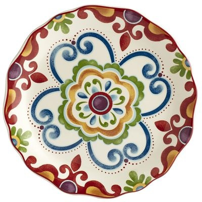 Pier 1 imports Global Medallion Salad Plate