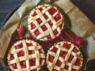 Indulgent Strawberry Pie