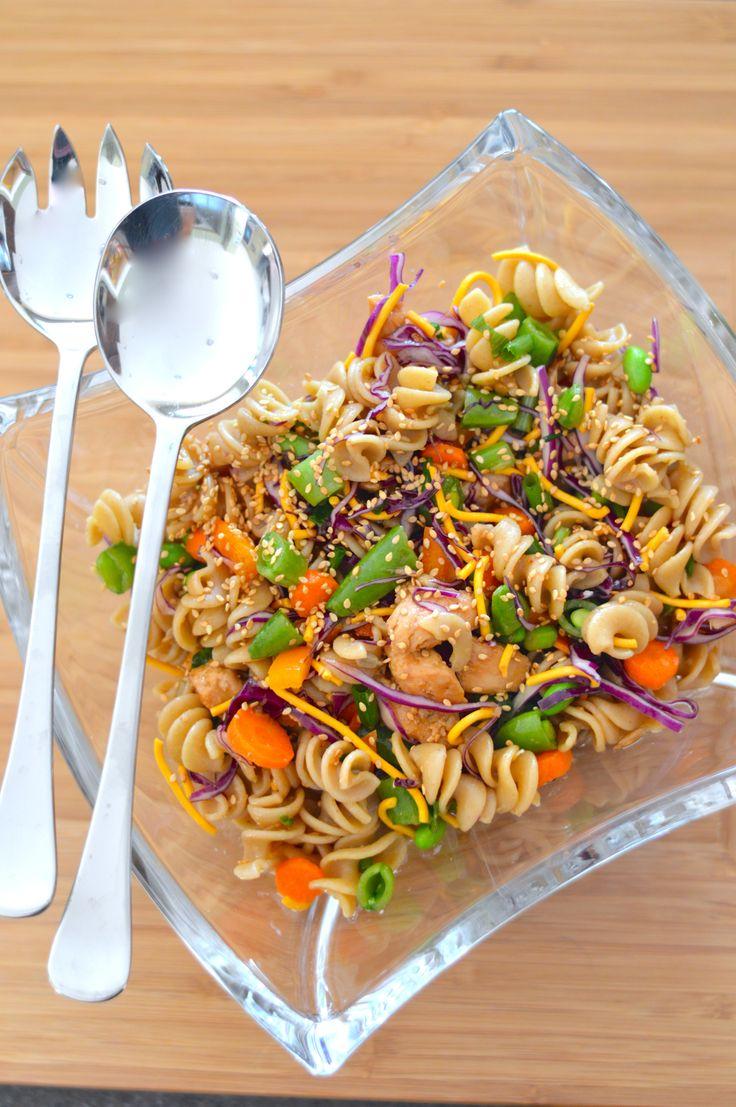 Chinese chicken pasta salad. Month 5 - week 4.