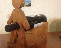 2-Bottle Wine Tote Wooden Wine Bottle by WinePalletConcepts