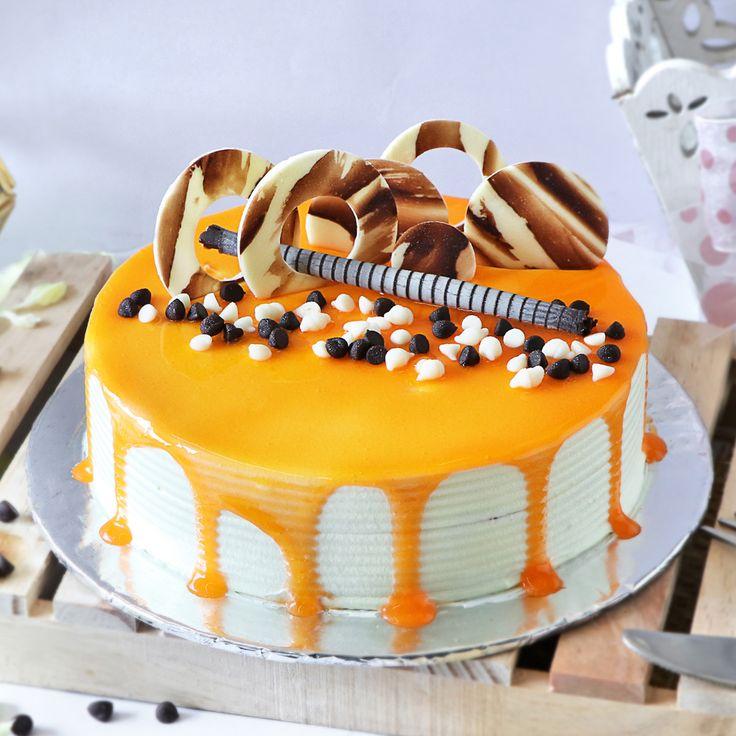Order special butterscotch cake half kg online at best