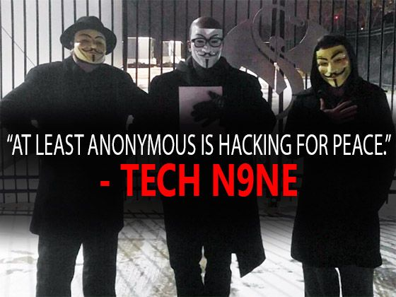 Did Members Of Anonymous Visit Tech N9ne At Strange Music Headquarters? [Social]