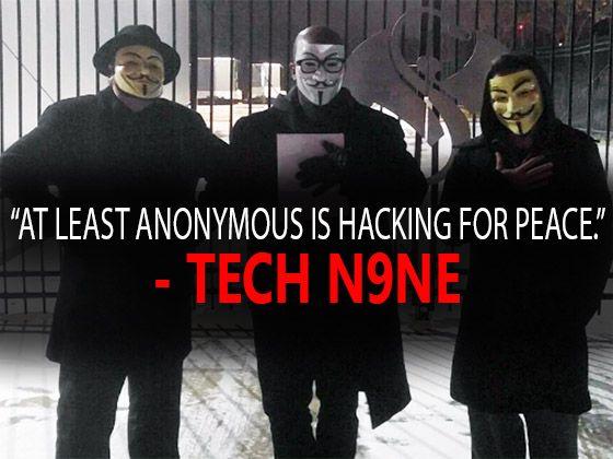 Did Members Of Anonymous Visit Tech N9ne At Strange Music Headquarters? [Social]