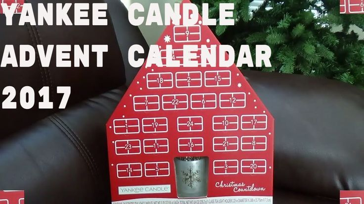 YANKEE CANDLE VILLAGE  ADVENT CALENDAR 2017 AND FREE GIFT BAG