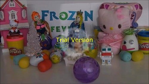 Frozen fever play doh