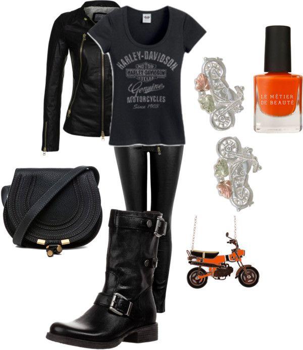 """Motor Harley Davidson"" by mollylsanders on Polyvore"