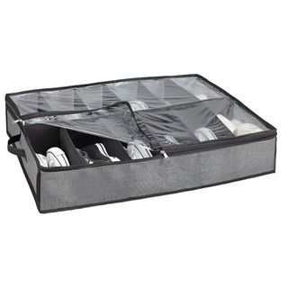 Everyday Home Premium Quality Under the Bed 12 Shoe Storage Solution | Overstock.com Shopping - The Best Deals on Closet Storage