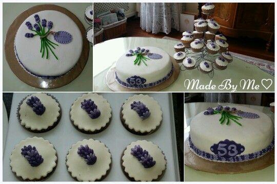 Lavendel taart♡