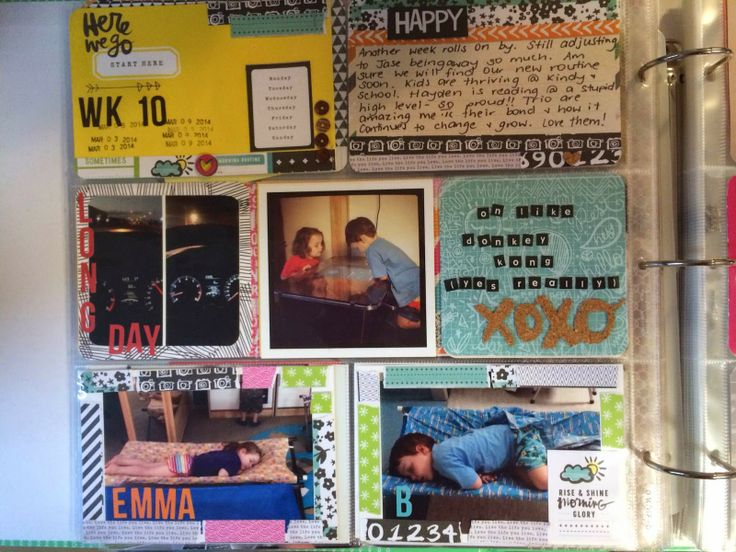 Project Life layout by Guest Designer Ali Moloney, using Polly! Scrap Kits March 2014 Jellybeans pocket life kit