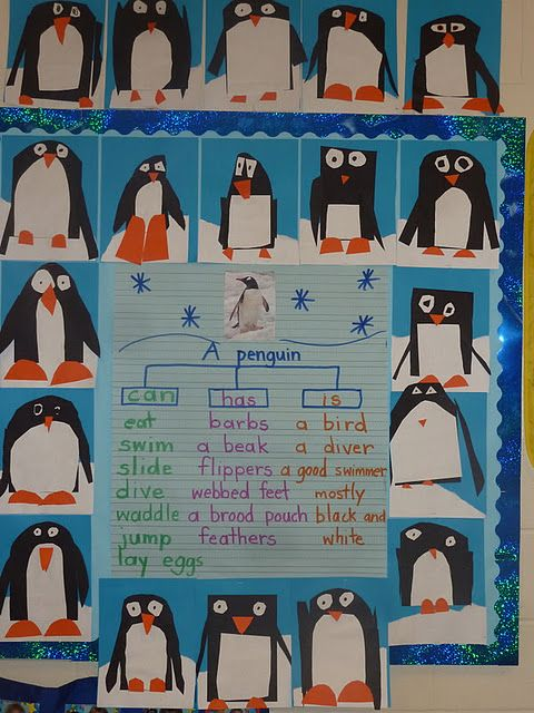 Penguin Tree Map- adorable! What a great language project, especially for my ESOL students. Lots of goodies on this site.