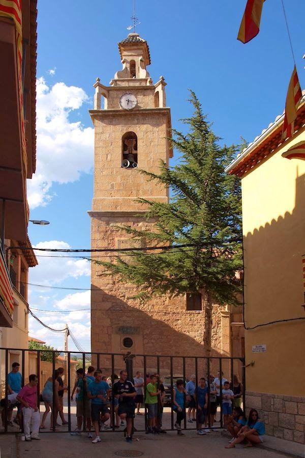 Iglesia de San Antonio Abad. Valvona. Teruel.