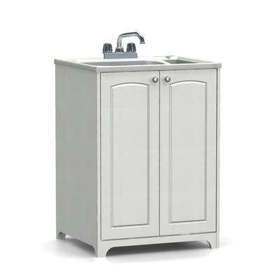 Sink And Washer All In One : AS - All In One Laundry Tub And Cabinet (Roman Arch) - ASB-104070 ...