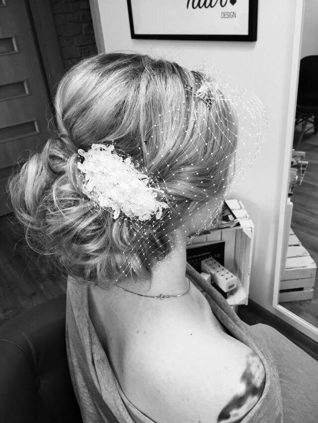 #wedding #hair #topknot