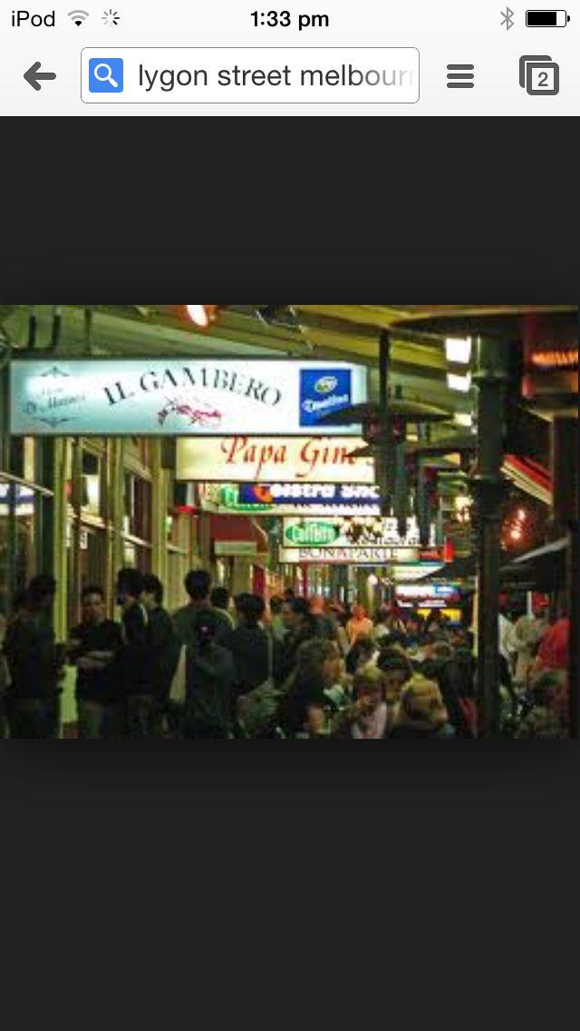 Lygon Street, Carlton, Melbourne