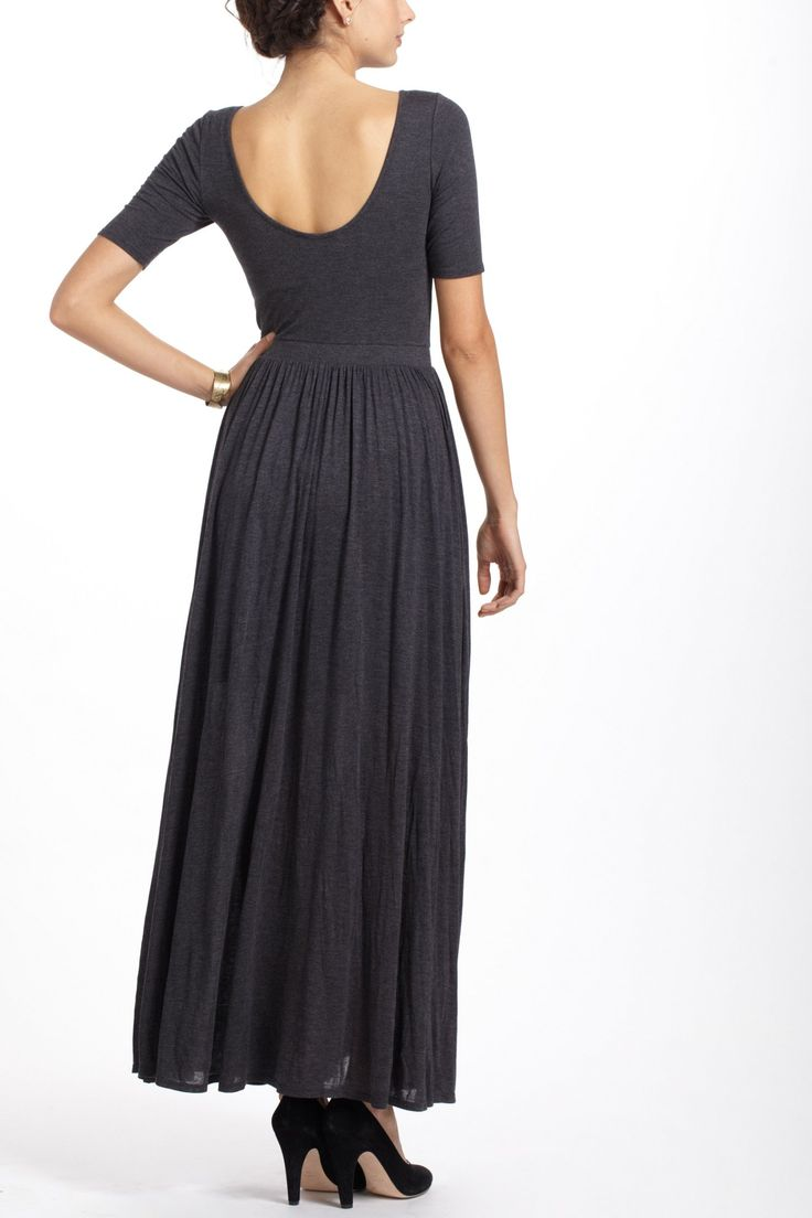 Scoopback maxi dress let 39 s play for Anthropologie mural maxi dress