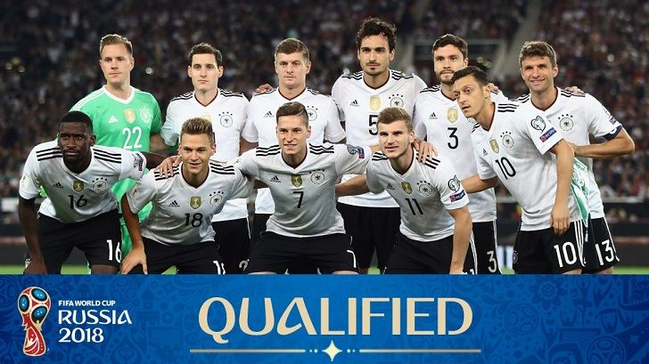 Germany Qualified To Fifa World Cup 2018 Russia Jerman Juara Sepak Bola