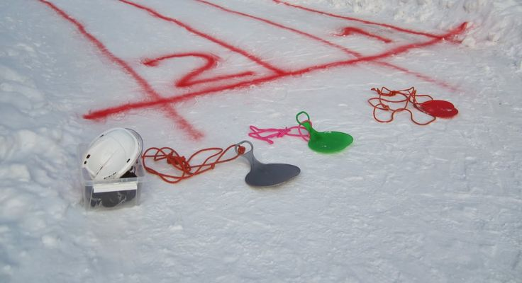 Liukuravit esim. talviurheilupäivään.