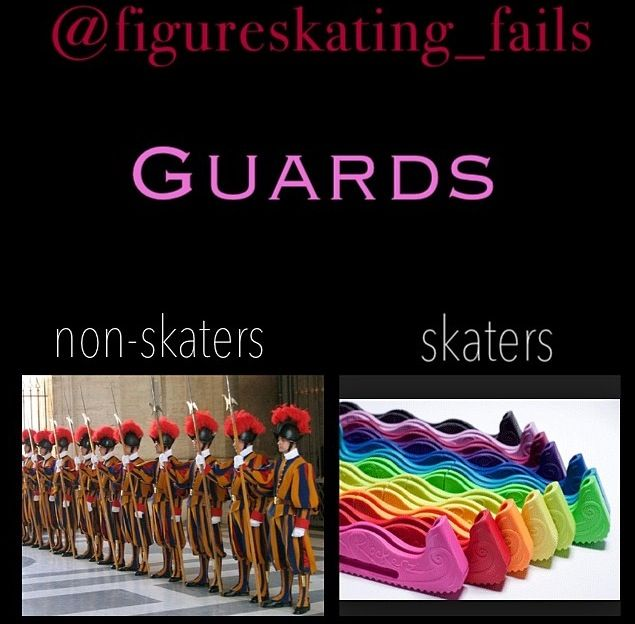 What we think of when we hear the word guards...