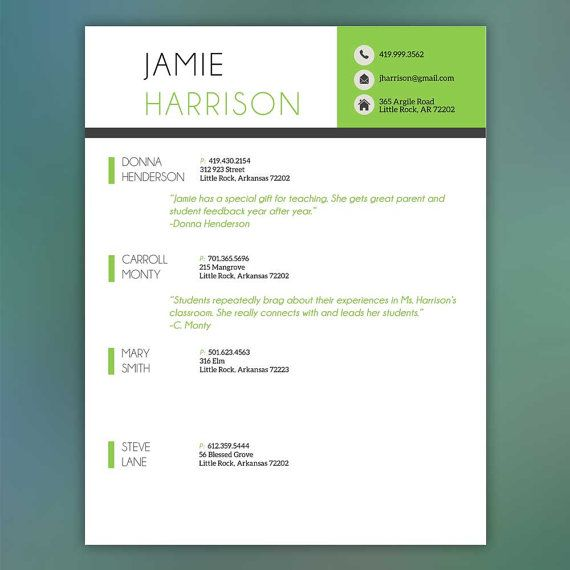 This professionally designed 3 piece resume set downloads immediately so you can get to work! Use and update as needed. The template is fully editable and easy to use in Microsoft Word. You can change colors and fonts of the theme if you want! Size is 8.5 x 11, print from home.