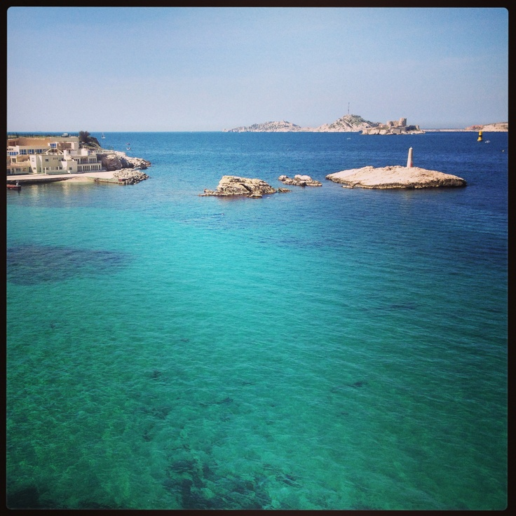 La mer est calme... - Marseille