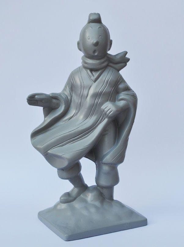 Figurine TINTIN Mako moulage