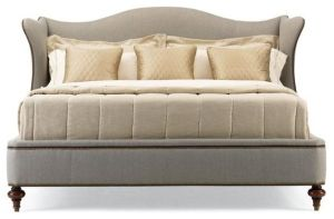 Upholstered Queen Bed eclectic beds by Lyra 'O