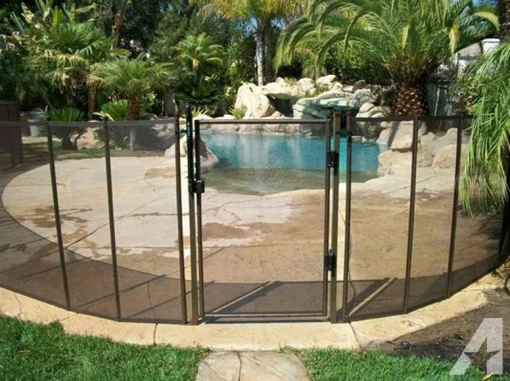 65 best pool fences images on pinterest for Phoenix swimming pool white city