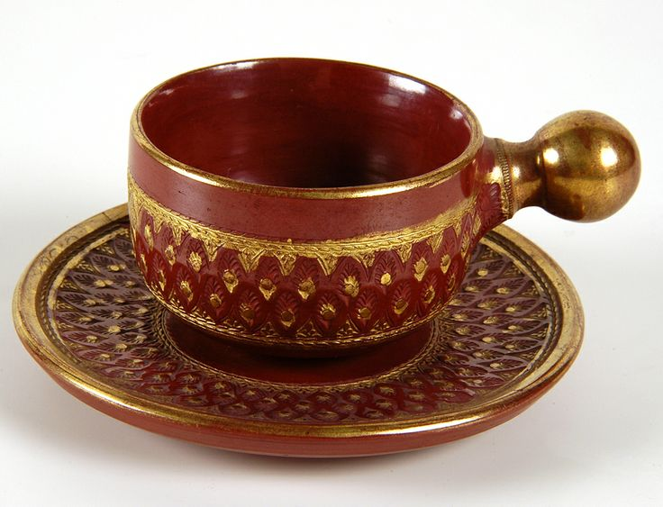 "Tophane ware. Coffee cup. "" Hacı Mehmet Efendi "", 19 century ende, Kaya Turgut's collection."