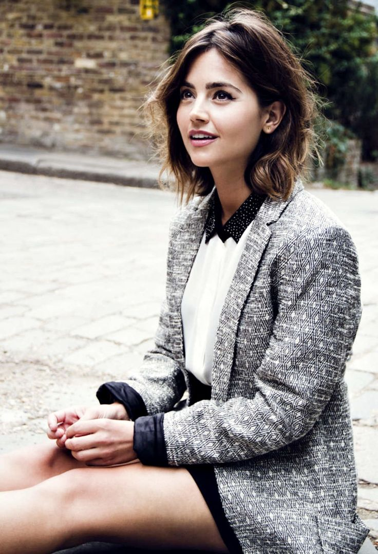 "outrageouslies: "" Jenna-Louise Coleman for Flaunt Magazine (2015) """
