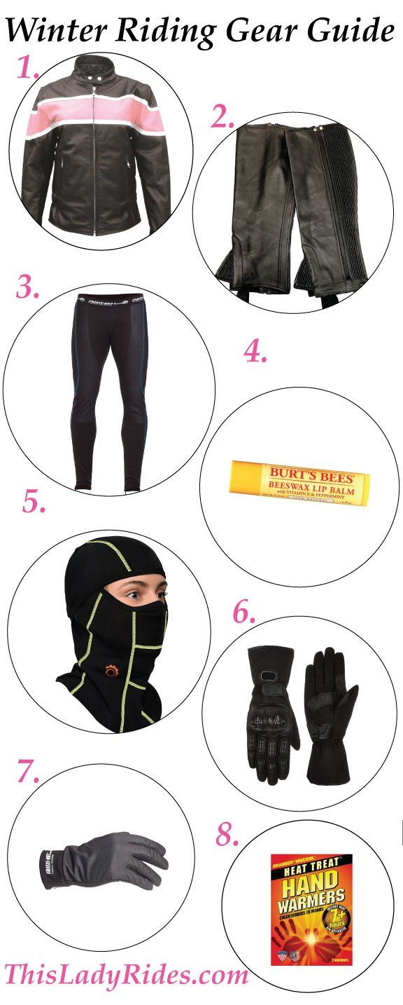 Find out the best winter riding gear to stay warm and extend your motorcycle riding season with cold weather motorcycle gear and accessories.