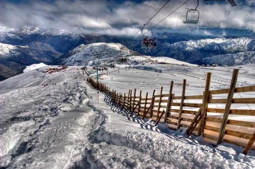Andes Mountains by Joseph Burnett