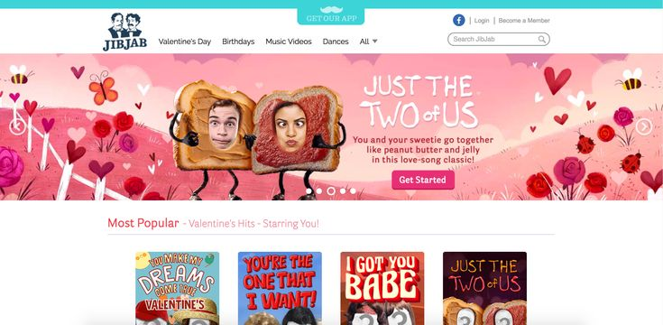9 Places to Look Online for Valentine Ecards: JibJab