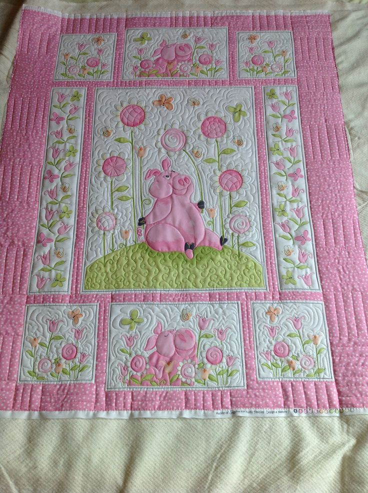 129 Best Images About Quilting With Panels On Pinterest