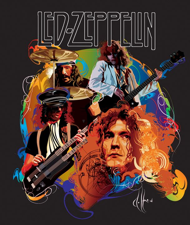 25 Best Ideas About Led Zeppelin Art On Pinterest Track