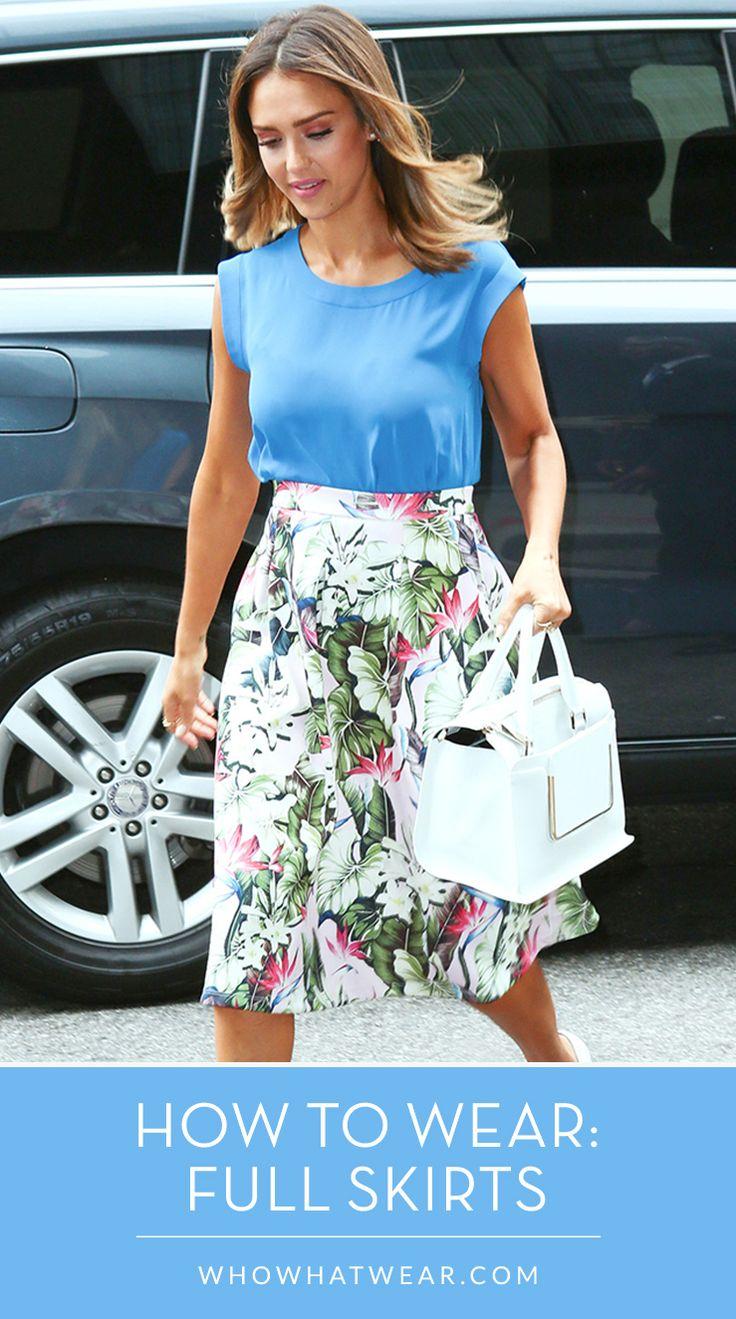 Best 25+ Full skirt outfit ideas on Pinterest | Full skirts, Ball ...
