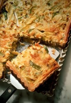 Chicken quiche: 10 beaten eggs, 2 cups cooked diced chicken, parsley flakes, chilli flakes, garlic powder, s to taste.  Mix all ingredients together and pour into a pan. Bake until quiche has set and rest for 2 minutes.