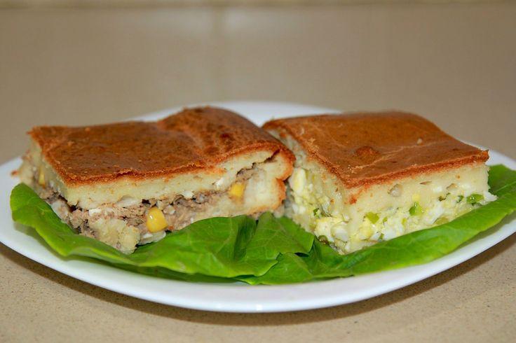 Пироги с тунцом и яйцом с луком / Паштида / Еврейский пирог / Pastida / ...