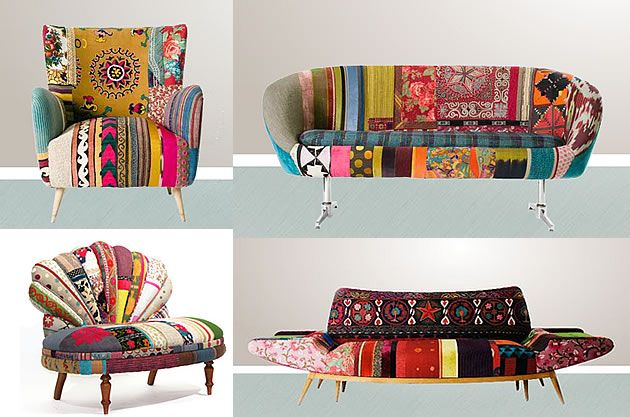 25  best ideas about fabric covered furniture on pinterest