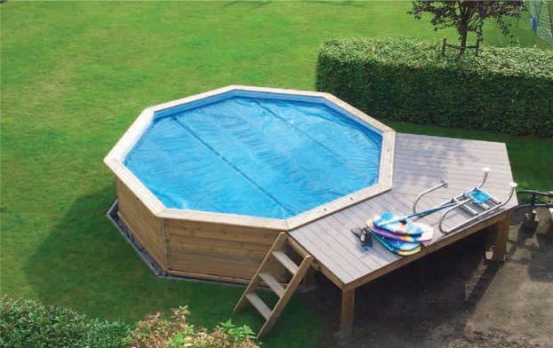 Oltre 1000 idee su piscine fuori terra su pinterest - Piscina fuori terra in pendenza ...